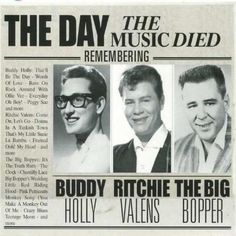 The day the music died. 3rd February 1959.