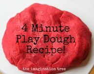 This truly is the best ever no-cook play dough recipe and it only takes 4 minutes! Softer than store bought and lasts longer.