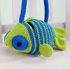 "Fish Bag - Pattern in ""Amigurumi on the Go"" by Ana Paula Rimoli :)"