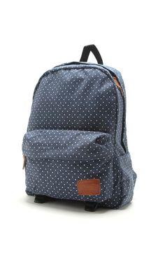 Vans Deana Chambray Dots Backpack #pacsun