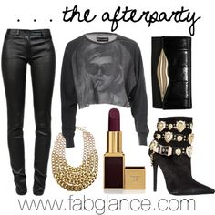"""""""#HBCU Homecoming - The Afterparty"""" by fabglance on Polyvore"""
