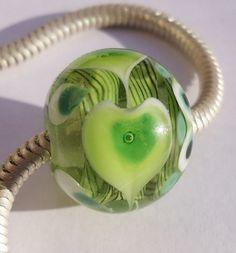 Jade bhb bracelet bead by BuzzwordBeads on Etsy, £11.00