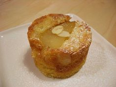 Caramelized Pear & Almond Cake