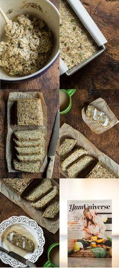 yumuniversebread   Heather's Toasted Super Seed Power Bread from Yum Universe (Vegan, GF)