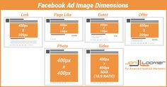 #Facebook Image Dimensions for 9 Ad Types Across Desktop and Mobile