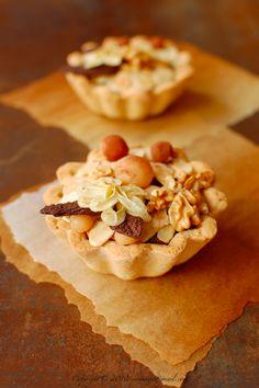 Autumnal Chocolate Tart