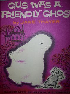 Gus was a Friendly Ghost Book by skybluecrayons, via Flickr