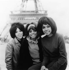 The Supremes in Paris, 1960s