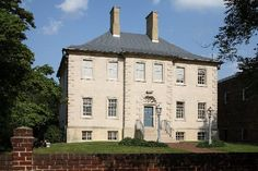 Carlyle House - Alexandria - A Georgian Palladian manor house built in 1753 by merchant and city founder John Carlyle.