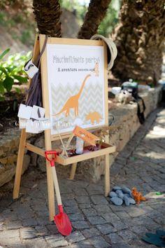 Really beautiful dinosaur party