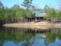 Experience luxury and privacy at Antler Cabin in Hochatown, which is surrounded on three sides by the Ouachita National Forest.