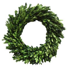 Preserved Boxwood Wreath.