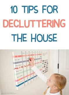 I love #6, that's genius! http://lifeasmama.com/10-brilliant-tips-for-decluttering-your-home/