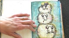 sheep + sketch by Junelle Jacobsen. For the lovely Sara ~ the *crazy sheep lady* in this messy month of March.