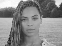 Beyonce wearing box braids to promote new World Humanitarian day campaign.