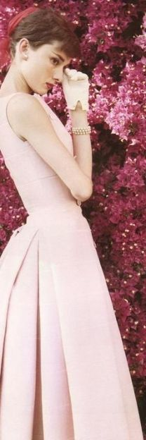 Audrey in Pink....