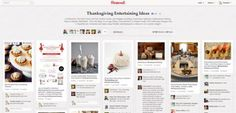 thanksgiving pinterest board from our #holidayentertaining pinterest party last night!