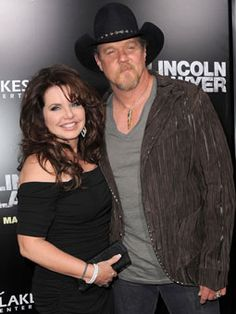 Trace Adkins and wife Rhonda at The Lincoln Lawyer premiere back in 2011.