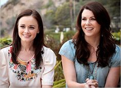 Lauren Graham & Alexis Bledel #GilmoreGirls