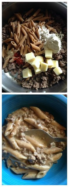 Unprocessed Hamburger Helper.. yes you can make this stuff yourself without all the dangerous additives Betty Crocker uses. This recipe contains all real ingredients, no bullion, no MSG!