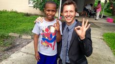 Reporter spots missing boy while reporting about his disappearance