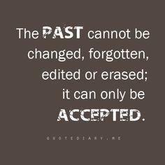 So true...letting go creates the way for Fresh Beginnings.