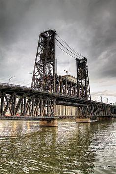 Oregon, Portland, Steel Bridge