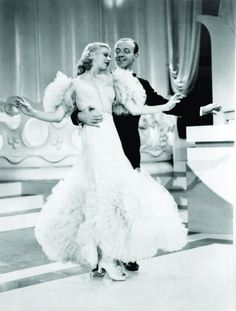 Still of Fred Astaire and Ginger Rogers in Swing Time