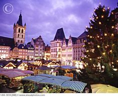Trier, Germany @ Christmas time, its just beautiful!