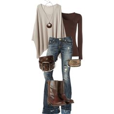jean, fashion, cowboy boots, cloth, style, chocolate brown, fall outfits, brown boots, shoe
