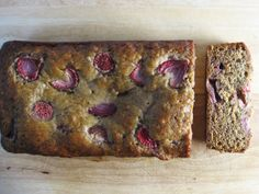 Celebrate National Banana Bread Day with Strawberry Banana Bread http://www.ivillage.com/sunday-national-banana-bread-day-celebrate-all-weekend-these-great-recipes/3-a-562658