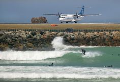 World's Most Hair-Raising Airports: Wellington International, Wellington, New Zealand