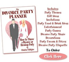 The divorce party planner book