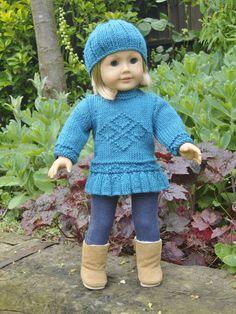 Knitting - American Girl Doll on Pinterest | American Girl Dolls