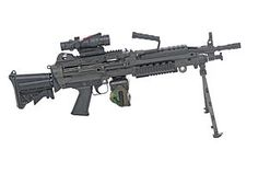 This is the cool machine gun that I got to shoot at The Las Vegas Gun Store