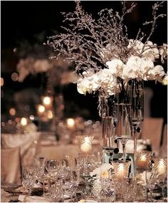 Wedding Centerpiece Ideas: Winter Wonderlands that Give Us Chills