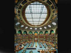 Bibliothèque nationale de France, site Richelieu, salle Ovale, Paris, France, 2008.