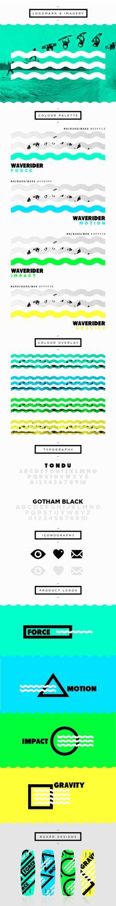 WAVERIDER // Branding | Designer: Jonathan Quintin