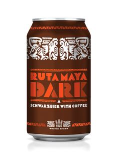 Central America / Ruta Maya Dark packaging design
