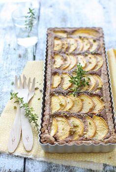 Peach Pie With Almonds