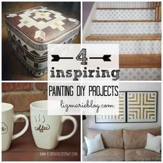 4 inspiring Painting DIY projects- a must see!