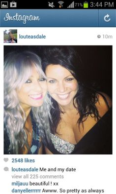 Lou and Harry's mom Anne.