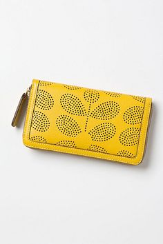 Perforated Petals Wallet