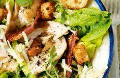 Roast Chicken Caesar Salad Recipe