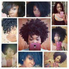 mynaturalsistas: This is one of the many reasons I LOVE natural hair… Versatility! These are only a few of the styles I've done with my hair… I love that I have options. I flat iron my hair & my sisters color their hair… so… those aren't permanent changes to our Textures. Yes, that could cause damage, but not properly combing your hair can cause damage. There is more to being natural than just wearing an afro or twist out. Our hair is AMAZING! Embrace that our kinky curly afro ...
