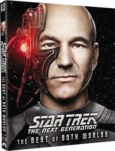 Star Trek: The Next Generation - Cost, Extras, Box - With an Animated Look! - for Blu 'Best of Both Worlds'