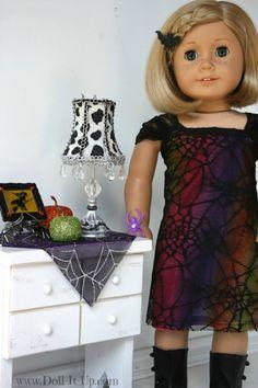 Halloween Dress for Dolls-