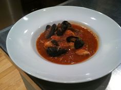 Stress Free Dinner Party Recipe: Seafood Cioppino - I've made this stuff and it's excellent.