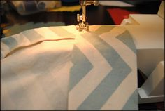 Visual Eye Candy: Easy Sew Curtains
