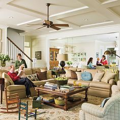 Southern Living Family Room